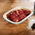 Organic Stewing Steak (Sussex Beef)